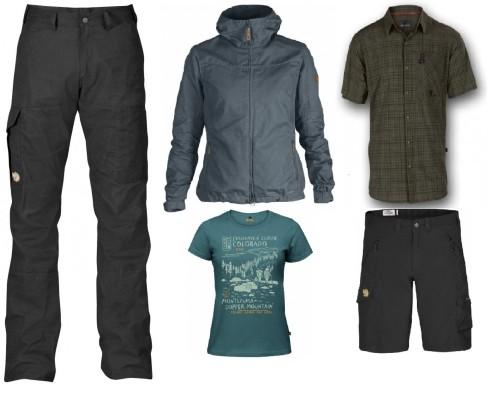 Outdoor beklædning. Haglöfs, Fjällräven, Wolf Camper, Pinewood.