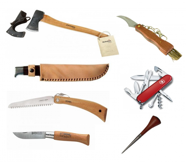 Knive, Økser & Save